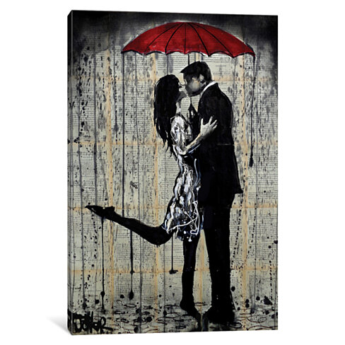 Rainy Hearts by Loui Jover