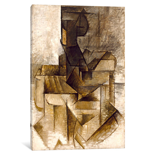 Buy The Rower by Pablo Picasso by Canvas Wall Art on Dot & Bo