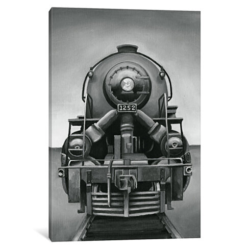 Vintage Train by Ethan Harper Canvas Print
