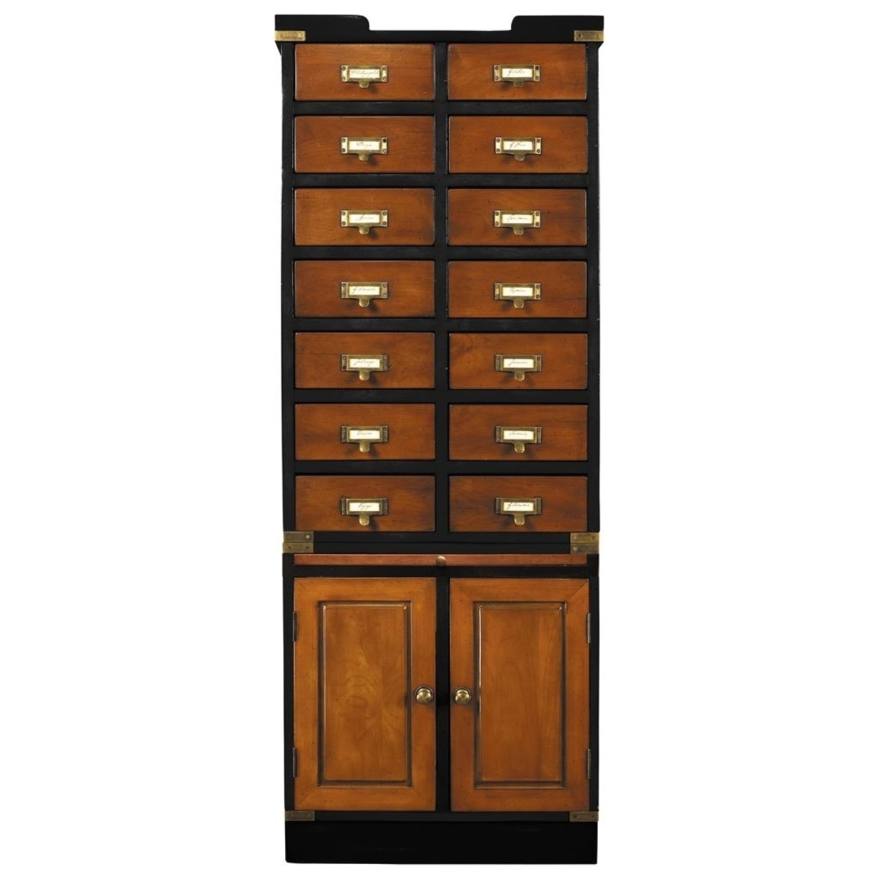 "Collectors Cabinet, Doors 57"" Nautical Collection Collectables Storage"