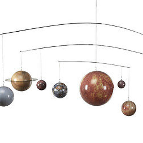 Buy solar system planet globe mobile hanging astronomy - Hanging planets decorations ...