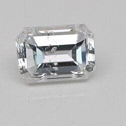 Emerald Cut Loose Diamond (0.63 Ct, D Color, SI1 Clarity) IGL Certified