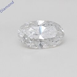 Oval Cut Loose Diamond (0.72 Ct, E Color, I1 Clarity) GIA Certified