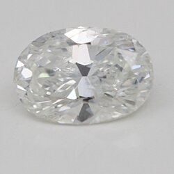 Oval Cut Loose Diamond (1.02 Ct, G Color, SI2 Clarity) IGL Certified