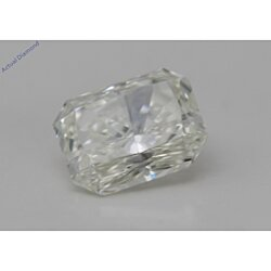 Radiant Cut Loose Diamond (0.68 Ct, K Color, VS2 Clarity) GIA Certified