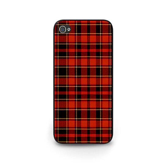 Buy red plaid phone case iphone 5s case red tartan plaid phone