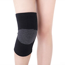 2-Pack: Bamboo Compression Pain Relief Knee Brace