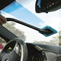 2-Pack: Microfiber Windshield Cleaner