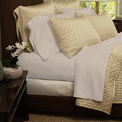6-Piece Set: 1800 Series Super-Soft Organic Bamboo Bed Sheets