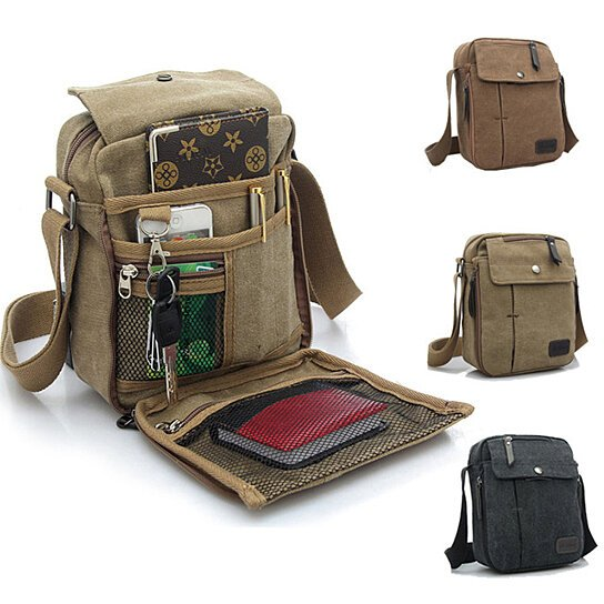 6e1c30fa23 Trending product! This item has been added to cart 19 times in the last 24  hours. Valencia Unisex Multifunctional Canvas Traveling ...