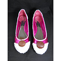 Chocolate Cupcake Pink Glitter Shoes Frosted 9M
