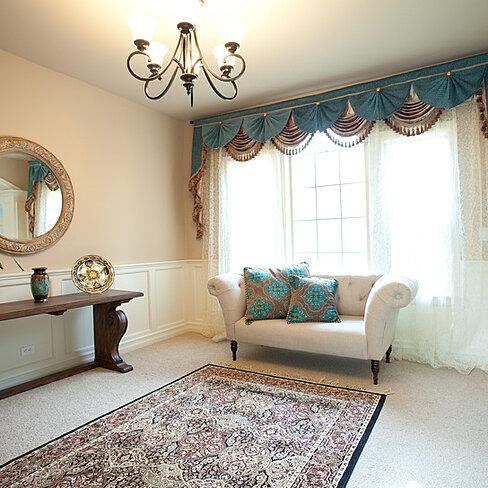 Buy Blue Salon 130 Swag Valance Curtains By Celuce