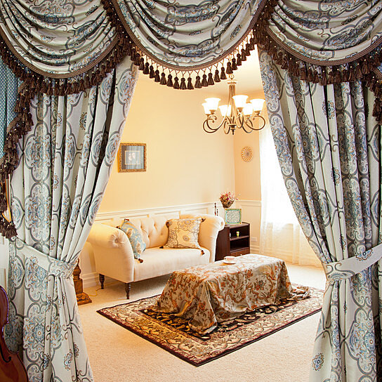 Buy Persian Dance 100'' Swags And Tails Valance Curtains