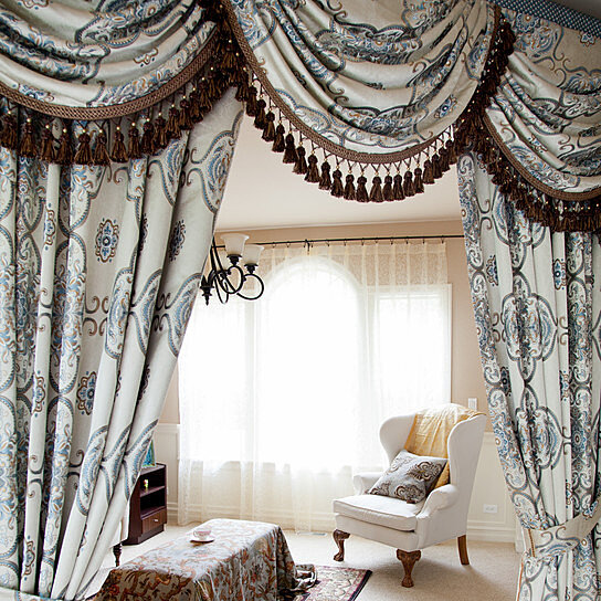 Buy Persian Dance 100'' Swags And Tails Valance Curtains By Celuce Design On OpenSky