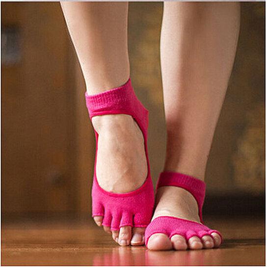 Buy 2 Pack Non Slip Yoga Socks By Center Link Media On Opensky