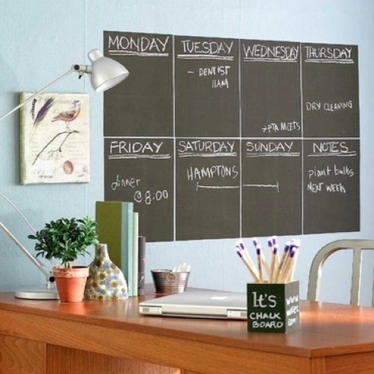 6ft Chalkboard/ Whiteboards - Chalk 598c8b9e2adf925fc070dae6