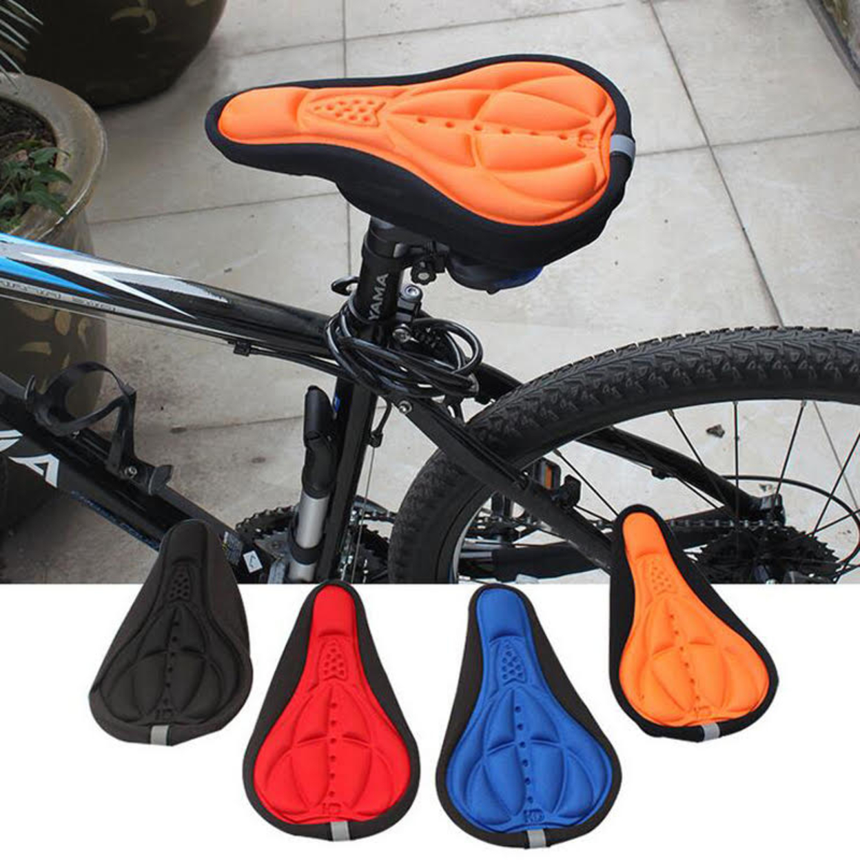 Bike Seat Cover - Black 57f50d1ccaccdd1ec8527760