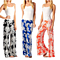 Floral Palazzo Pants, Available in S-2X