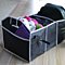 Collapsible Canvas Car Trunk Organizer