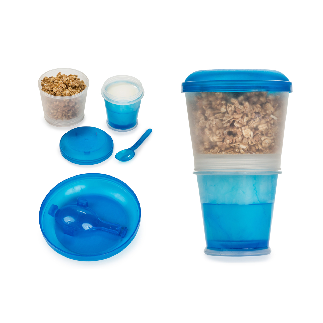 Cereal To-Go Cup-2 Pack - Blue 588f7f2399336a3c3b008e4e