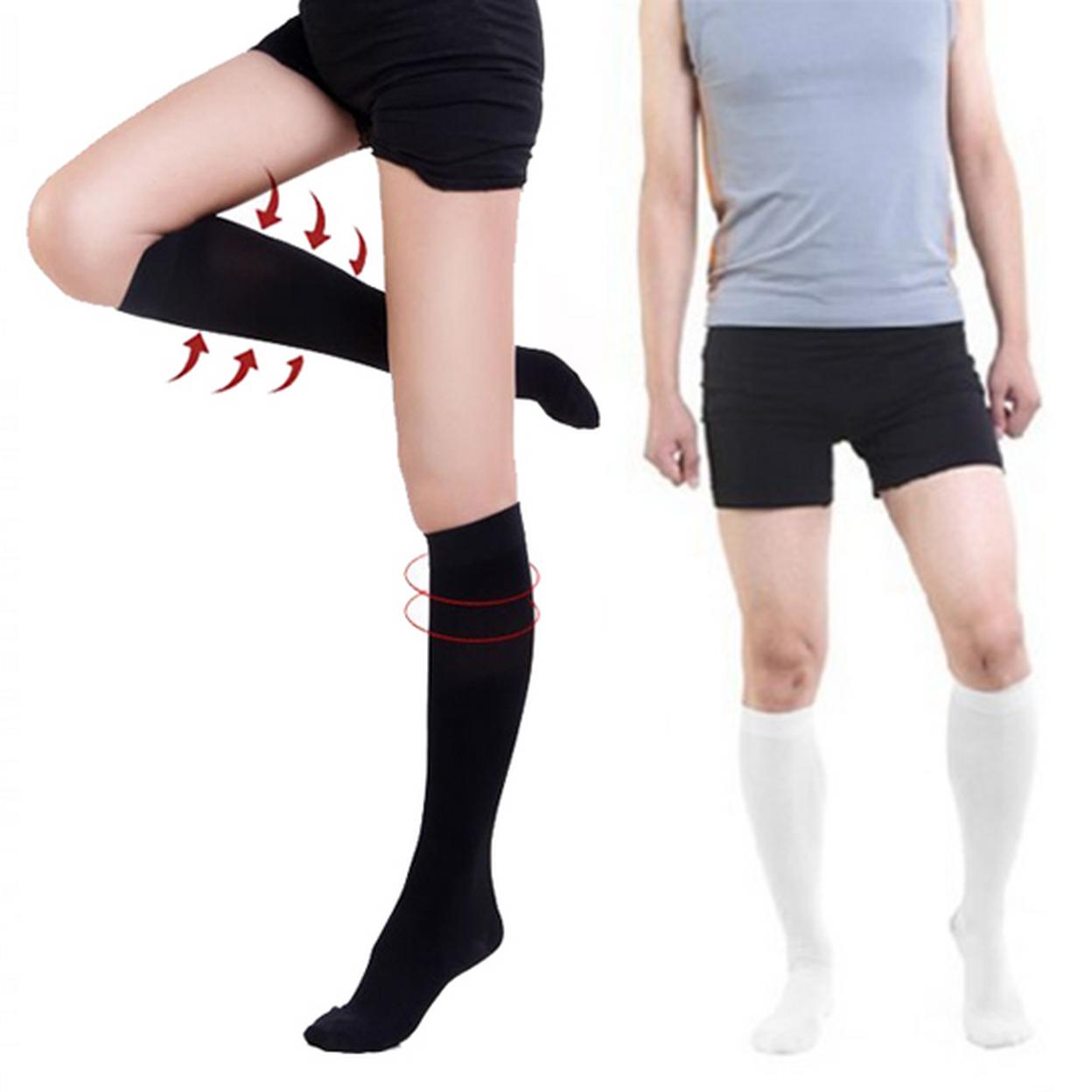 Compression Socks for Men and Women - Black, Small/Medium 57630e58483d6f2f6a8b4622
