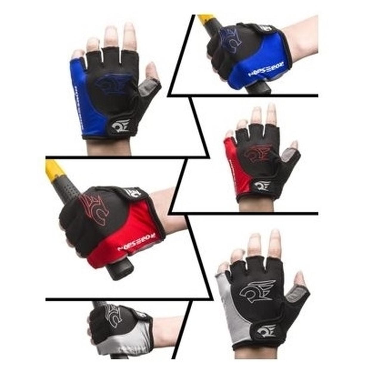 Cycling Gloves - Red, Medium 5978c0a0a020af16d41f240c