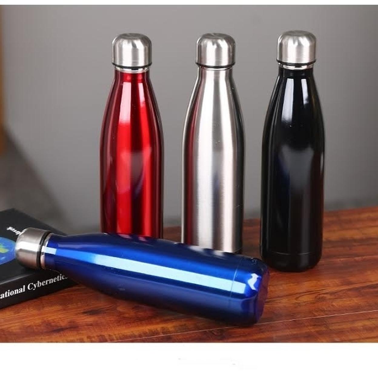 Double Wall Steel Bottle - Black 57c9c7cf4fe4e51ffc6908d4