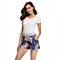 Floral Print Lounge Shorts (S-3X)