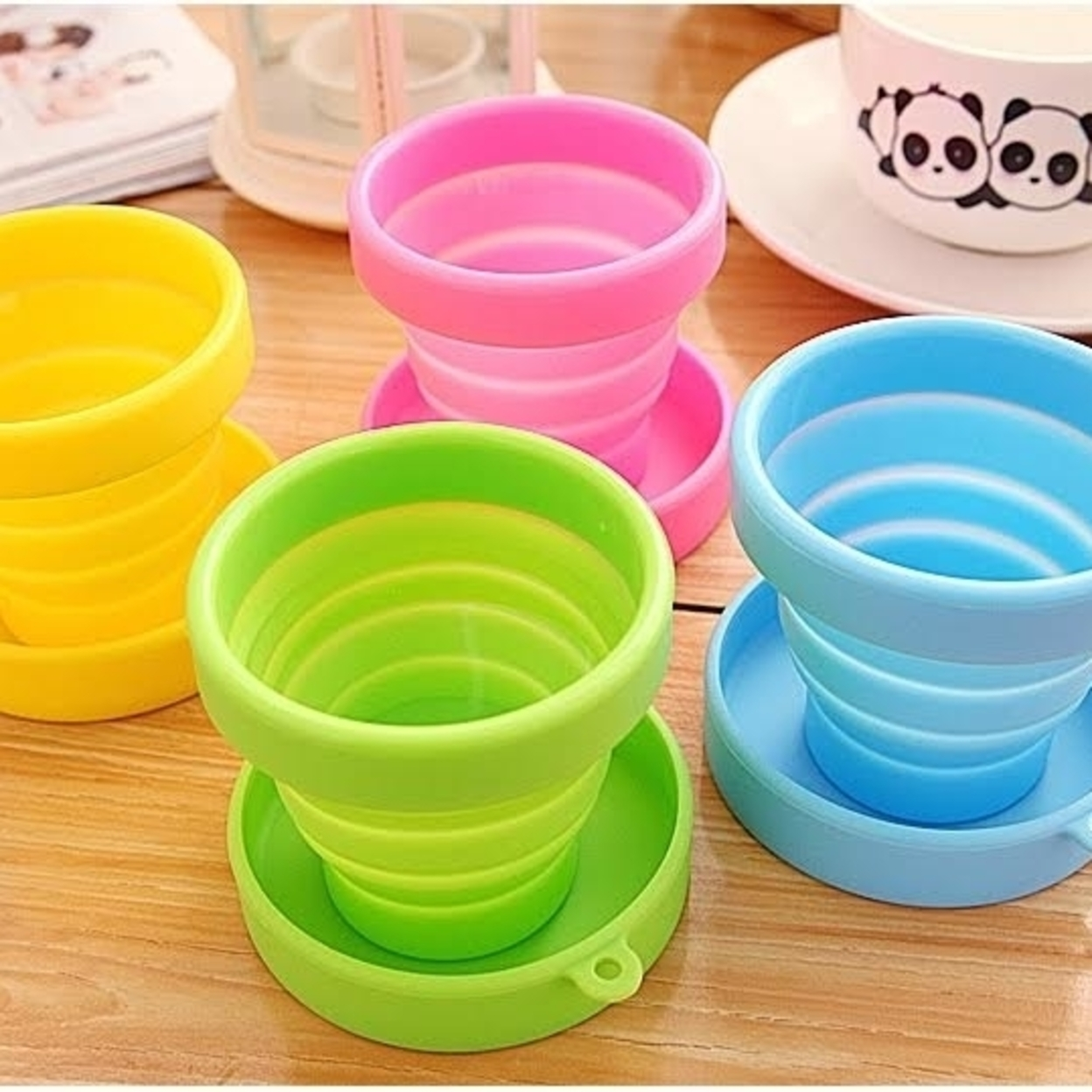 Folding Cup 2-Pack - Pink 56f588df683d6f40438b475e