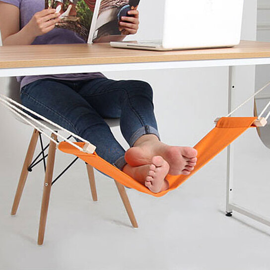 Bon Buy Foot Rest Desk Hammock By Center Link Media On OpenSky
