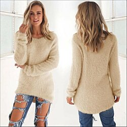 Lightweight Fuzzy Knit Shirt