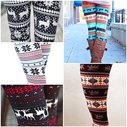 Holiday Leggings Bundle - 5 PAIRS INCLUDED