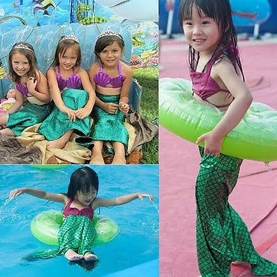 57f58d79fc0d Trending product! This item has been added to cart 5 times in the last 24  hours. Kids Mermaid Swimsuit