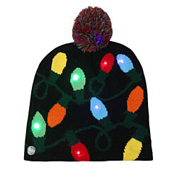 LED Holiday Beanie
