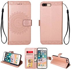 Mandala Wallet Case For models: iPhone 7/8, iPhone 7/8 Plus, and iPhone X