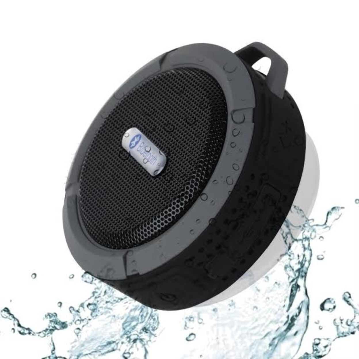 Portable Waterproof Bluetooth Speaker - Red 563cfc1b6e3d6f60598b4b97