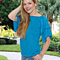 Lilly Posh Cold Shoulder Ruffle Top in 10 Colors
