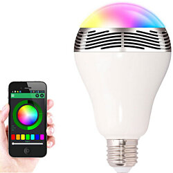 Smart LED Bluetooth Speaker Bulb
