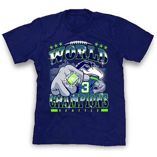 Buy Super Bowl Champions Shirt Seattle Seahawks Tshirts