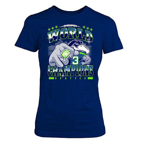 Buy Women 39 S Seattle Seahawks Tshirts Nfl Super Bowl