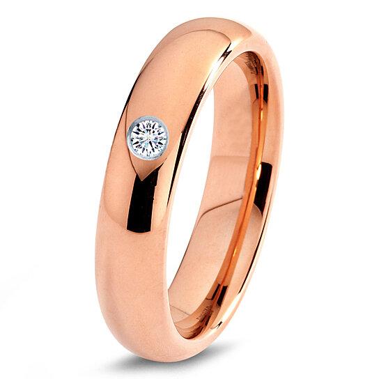 Buy Tungsten Wedding Band 5mm Mens Wedding Bands Rose Gold