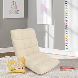 Chic Home Clover Microplush Modern Contemporary Armless Quilted Recliner Recliner Chair