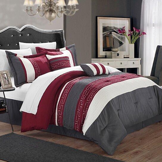Buy Chic Home Coralie 6 Piece Comforter Set Hotel