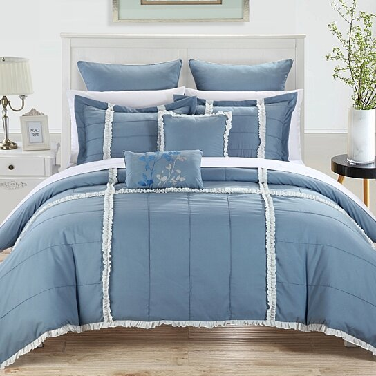 Buy Chic Home Levi 7-piece Bedding Comforter Set By Chic
