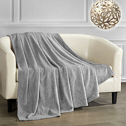 Kaeden Throw Blanket Cozy Super Soft Ultra Plush Micro Mink Fleece Decorative Design