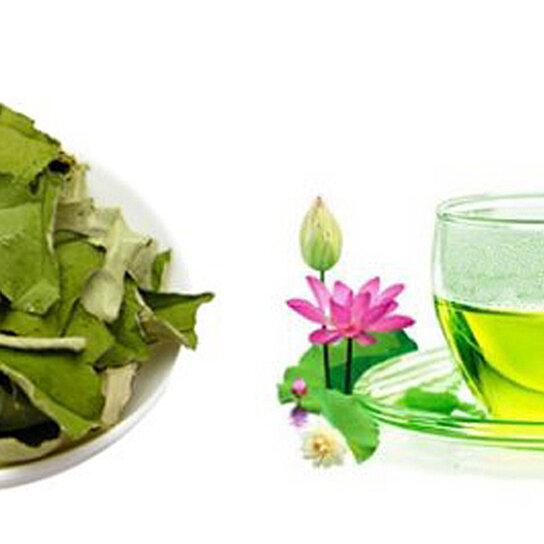 how to make lotus leaf tea