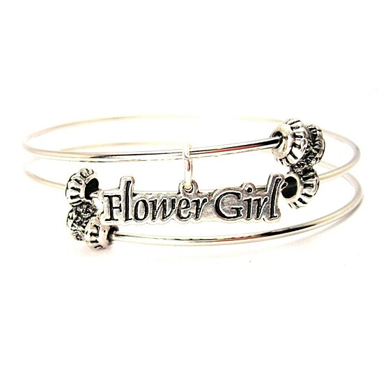 Buy Chubby Chico Charms Flower Girl Charm on Triple Style ...