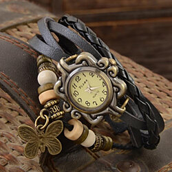 Vintage Ladies Leather Bohemian Watch