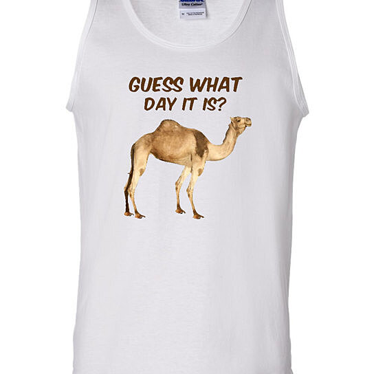 Hump Day Toys : Buy guess what day it is camel hump adult novelty tank