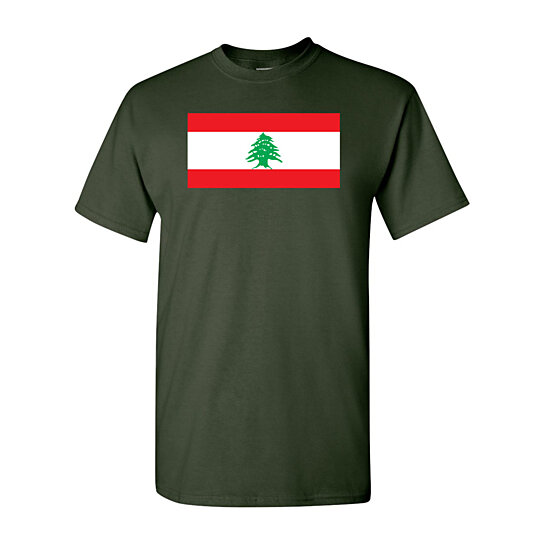 Buy Lebanon Country Flag Nation Patriotic Novelty DT Adult